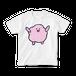 Happyファジー  Tシャツ(白)
