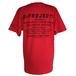 [Tシャツ] Dプロジェクト *赤*