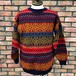 90s Next Fair Isle Pattern Sweater Made in England