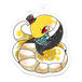 【アクリルキーホルダー】アミメニシキヘビ