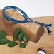 kaze (marine blue) Men's 輪っかの3巻ブレスレット<絹組紐+シルバー925>