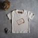 背伸びTシャツ バニラ 【キッズ】 90cm~120cm