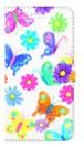 【iPhone6Plus/6sPlus】 Butterflies Dance 蝶のダンス 手帳型スマホケース