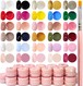 【新品・送料無料・最短翌日】[NailRecipe(ネイルレシピ)] ジェルネイル ジェルネイルセット カラージェル ネイル 30色セット 可愛くて発色抜群 ギ