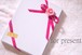 【ギフトパック】刺繍入りオリジナルエプロンC(お好きなエプロン+ネーム刺繍+ラッピング)