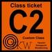 YKW C2 Class ticket