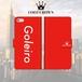 FOOT CROWN 限定 手帳型 スマホケース フットサル レッド [ゴレイロ] [Goleiro] iphone全機種対応