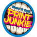PRINT JUNKIE SHOUT IT OUT ステッカー