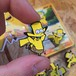 "THUMBS""Bart x Pikachu Pin Badge"""