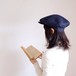 Re:19世紀の帽子 【Wooly hat】- navy blue -