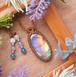 Drop of Rainbow Labradorite Necklace