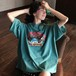【トップス】アルファベットプリントラウンドネックTシャツ19637143