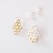 lace pierced earring - K10