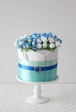 【Atelier Plavaruza】アトリエ プラハルーザ  ダイパーケーキ【Miracolo Blue】(Sサイズおむつ使用)