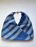 藍染×型染あづま袋