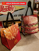 U.S McDonald's マクドナルド オフィシャル ナイロントートバッグ