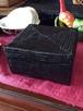アタ 黒 スーパーアタ ☆ きめ細かいアタの小物入れボックス 12x12 BN166