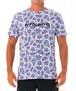 【20SS 新作】【69SLAM】水陸両用 ロックスラム メンズ ラッシュ SKULLMOND WHITE Tシャツ / MTXSDW-WH