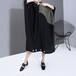 レクタングル ワンピース ルーズ 韓国ファッション レディース 長方形 ラウンドネック ゆったりウエスト ロング 大人カジュアル 大人可愛い ルーズ 616125916110