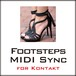 Footsteps MIDI Sync for Kontakt