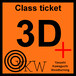 YKW 3D+ Class ticket