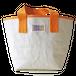 ハンドメイド1号帆布バケットトートバッグ(オレンジ/キャンバス)
