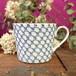 丸直製陶所 マグカップ [青波](藍)