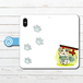#003-022 手帳型iPhoneケース 手帳型スマホケース 全機種対応 iPhoneXS/X 狛犬ちゃま 《犬 いぬ イヌ》 作:黒糖からす 動物系 かわいい系 Xperia ARROWS AQUOS Galaxy HUAWEI Zenfone