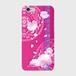 【iPhoneシリーズ】Peony Dream 芍薬の夢 フューシャピンク ツヤありハード型スマホケース
