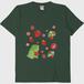 がおといちごみずたまTシャツ/フォレストグリーン/送料無料