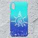 【iPhoneXS/X対応】D-Logoアクアマリンハードケース