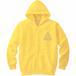 フルジップロゴパーカー(黄色/マコト着用色)