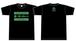 未来茶レコードTシャツ(黒)