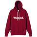 Woood.hoodie / Red Pepper
