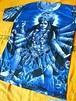商品番号t-08神様Tシャツ【ドゥルガー(青)】(Size:フリーサイズ・M~L程度)
