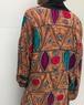 80s geometric rayon haori ( ヴィンテージ  ジオメトリック レーヨン 羽織り )