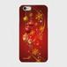 【iPhoneシリーズ】Winter Holiday Gorgeous Red ウィンター・ホリデー ゴージャスレッド  ツヤありハード型スマホケース