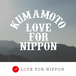【寄付募集】¥10,000 単位 平成28年 熊本地震支援基金 『ACTION KUMAMOTO with LOVE FOR NIPPON』