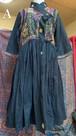 Rabari刺繍Angrakhaドレス