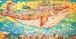[186]大判ポストカード ピンクの天国のクジラ