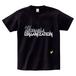 M.A.O / ELECTRAMANIACAL LOGO T-SHIRT BLACK