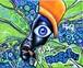 現代アート 原画 絵 絵画 アート アクリル 限定 カラフル オシャレ インテリア 美術品 ポップアート ヒップホップ HIPHOP 水彩画 油彩画 MoLmot 草間彌生 バスキア バンクシー ポロック