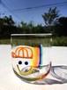 受注制作/虹色Smile キャップBoy Glass