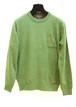 Green Pocket Knit