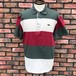 1980s Lacoste Striped Polo Shirt Made In France 4