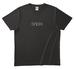 ウラオモテンション2 Tシャツ 黒 S