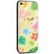 Jenny Desse iPhone XS ケース カバー 背面強化ガラスケース  背面ガラスフィルム シリコンハイブリッドケース 対応 sim free 対応 トロピカル・イエロー(黄色)