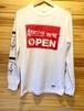ANOKHA / Amazing WE'RE OPEN ロングスリーブ Tシャツ