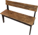 Original Wooden Bench 2