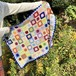 Granny Square blanket / Colorful
